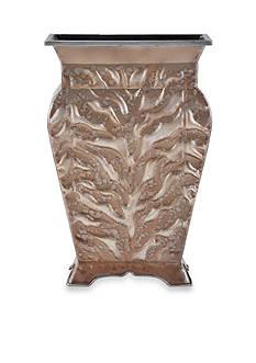 Elements 14-in. Zebra Embossed Metal Vase