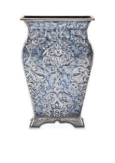 Elements 14-in. Tapestry Embossed Metal Vase
