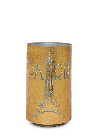 Elements 12-in. Gold Silver Metal Luminary