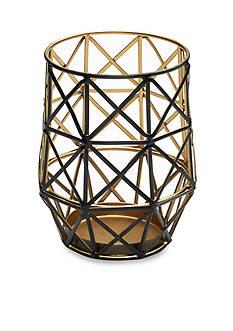Elements 6-in. Caged Wire Pillar Holder