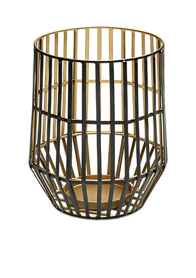 Elements 8-in. Caged Wire Pillar Holder