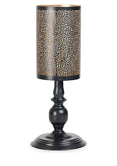 Elements 16-in. Metal Pedestal Luminary