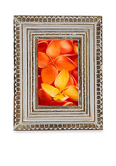 Bombay 8.5x10.5 Weathered Wood Frame