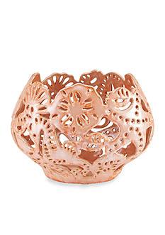 Elements 8-in. Coral Ceramic Bowl