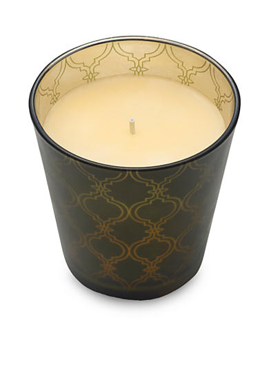 Elements 4.3-in. Laser LED Filled Glass Candle