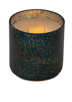 Elements 6-in. LED Filled Glass Speckle Candle