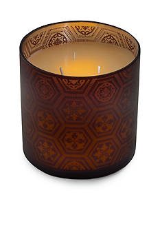 Elements 6-in. LED Filled Glass Candle
