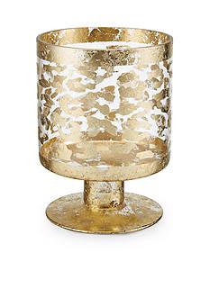 Bombay 8-in. Leopard Glass Hurricane