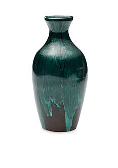 Bombay 11-in. Bamboo Bottle Neck Vase