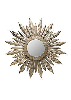 Bombay 36-in. Metal Round Sunburst Mirror