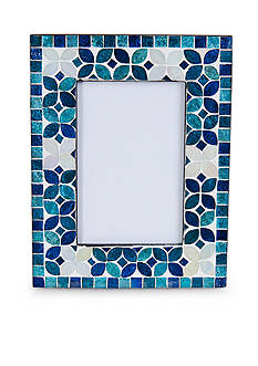 Elements Glass Mosaic Photo Frame