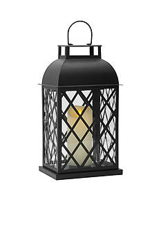 Front Porch 15.35-in. LED Metal Lantern