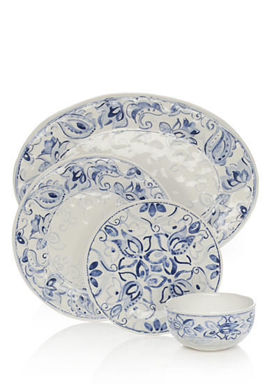 Home Accents® Blue Paisley Dinnerware and Accessories