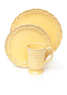Home Accents® Capri Buttercup Dinnerware