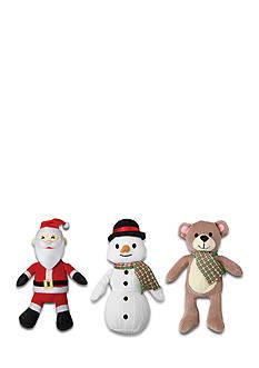 Animal Planet 3-Pack Plush Holiday Pet Toy Set