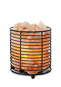 Tula Wellness Himalayan Salt Crystal Lamp in Tall Basket