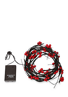 Order™ Home Collection 6-ft. Frozen Cranberry LED Garland