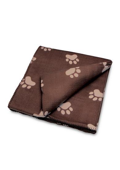 Animal planet pet blanket with paws belk for Animal planet dog blanket