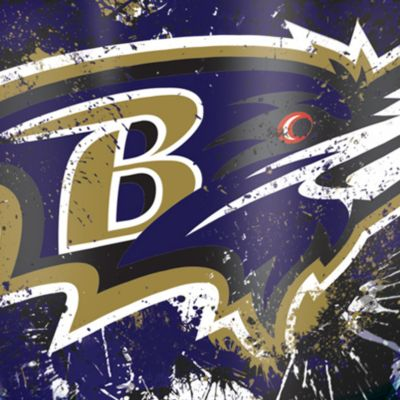 For The Home: Tervis Sports Fan: Baltimore  Ravens Tervis 24-oz. NFL Splatter Tumbler