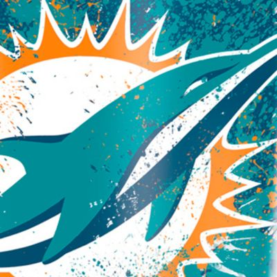 For The Home: Tervis Sports Fan: Miami      Dolphins Tervis 16-oz. NFL Splatter Tumbler
