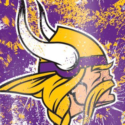 For The Home: Tervis Sports Fan: Minnesota  Vikings Tervis 16-oz. NFL Splatter Tumbler