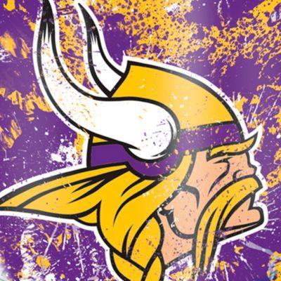 For The Home: Tervis Sports Fan: Minnesota  Vikings Tervis 24-oz. NFL Splatter Tumbler