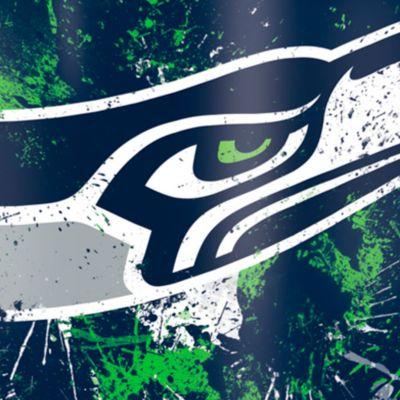 For The Home: Tervis Sports Fan: Seattle    Seahawks Tervis 24-oz. NFL Splatter Tumbler