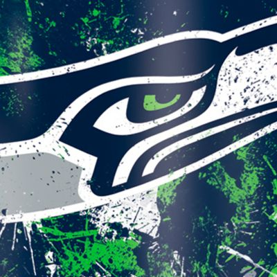 For The Home: Tervis Sports Fan: Seattle  Seahawks Tervis 16-oz. NFL Splatter Tumbler