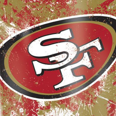 For The Home: Tervis Sports Fan: San  Francisco 49Ers Tervis 16-oz. NFL Splatter Tumbler