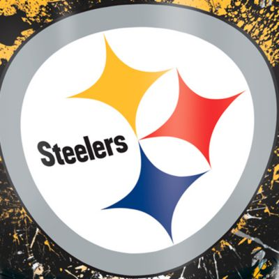 For The Home: Tervis Sports Fan: Pittsburgh  Steelers Tervis 24-oz. NFL Splatter Tumbler