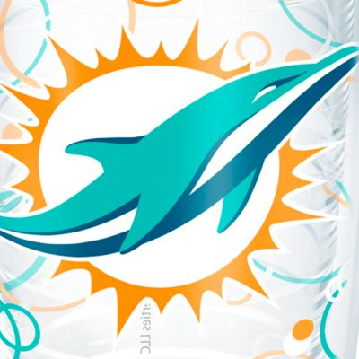 Tumbler: Miami      Dolphins Tervis 16-oz. NFL Bubble Up Tumbler