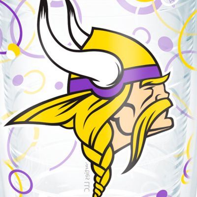 Tumbler: Minnesota  Vikings Tervis 16-oz. NFL Bubble Up Tumbler