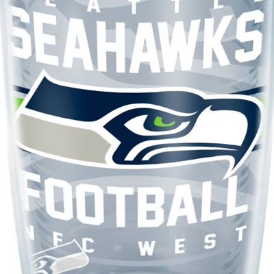 For The Home: Tervis Sports Fan: Seattle    Seahawks Tervis 16-oz. NFL Gridiron Tumbler
