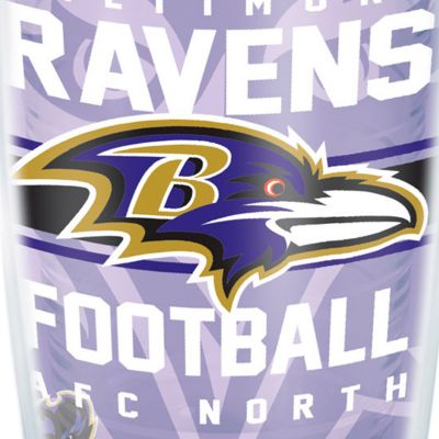 For The Home: Tervis Sports Fan: Baltimore  Ravens Tervis 16-oz. NFL Gridiron Tumbler