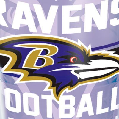 For The Home: Tervis Sports Fan: Baltimore  Ravens Tervis 24-oz. NFL Gridiron Tumbler