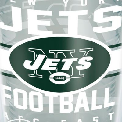 For The Home: Tervis Sports Fan: New York   Jets Tervis 16-oz. NFL Gridiron Tumbler