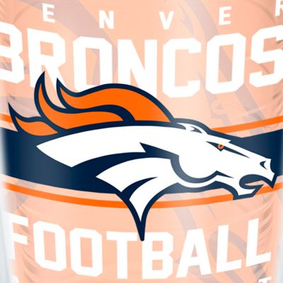 For The Home: Tervis Sports Fan: Denver     Broncos Tervis 16-oz. NFL Gridiron Tumbler