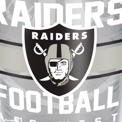 For The Home: Tervis Sports Fan: Oakland    Raiders Tervis 16-oz. NFL Gridiron Tumbler