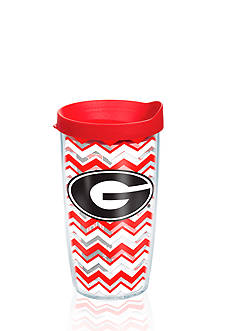 Tervis Georgia University Chevron Wrap Tumbler with Lid