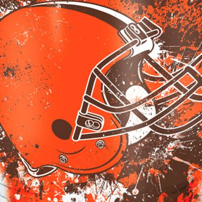 For The Home: Tervis Sports Fan: Cleveland   Browns Tervis 24-oz. NFL Splatter Tumbler