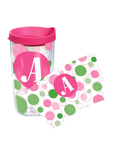 Tervis® 16 Oz Monogram Dot Wrap - More Letters Available