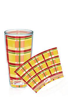 Fiesta Tervis® Sunny Plaid 24-oz. Tumbler