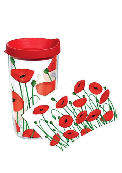 Tervis&reg; Poppies 16-oz. Tumbler with Red Travel Lid<br>