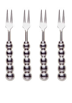 Biltmore® Big Bead Set of 4 Appetizer Forks