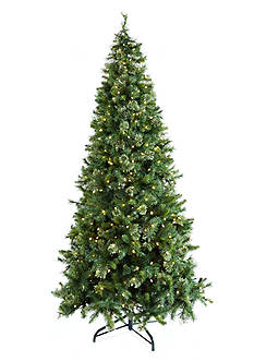 Biltmore 9-ft. Multi-Color Pre-Lit Northwest Pine Mix Tip Tree