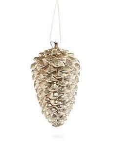 Biltmore Tteetops Glisten Glitter Pinecone Ornament