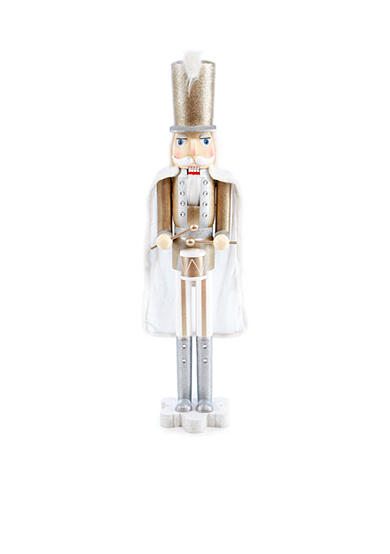 Biltmore treetops glisten 4 ft drummer nutcracker belk for 4 foot nutcracker decoration