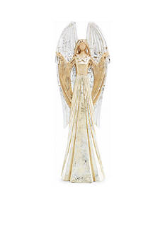 Biltmore Treetops Glisten Angel with Wings Decor