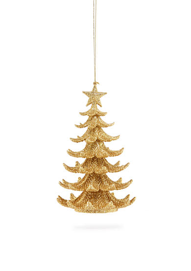 Biltmore® White Christmas Gold Christmas Tree Ornament