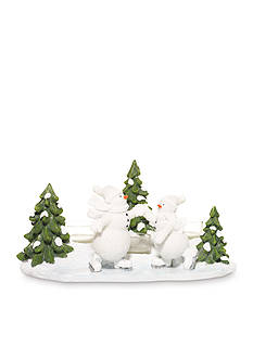 Yankee Candle Snowman Tea Light Holder